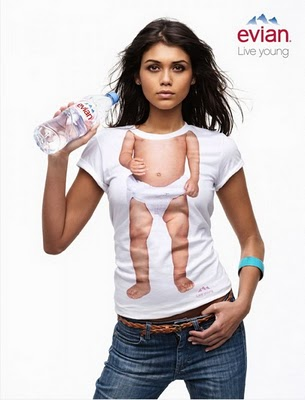 Estrategia de marketing de Evian
