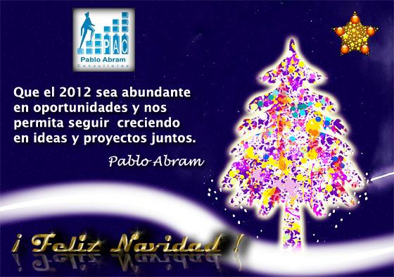 Felices Fiestas Excelente 2012