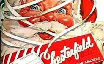 Publicidad navideña de antes, políticamente incorrecta hoy
