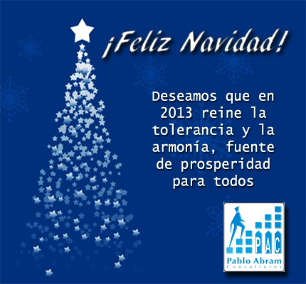 Feliz Navidad y Próspero 2013