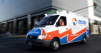 Nuevo diseño para las ambulancias de Acudir SA