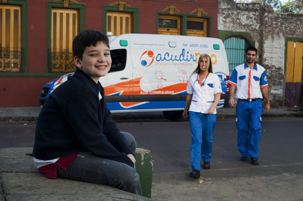 Atención pediatrica y traslados en ambulancia
