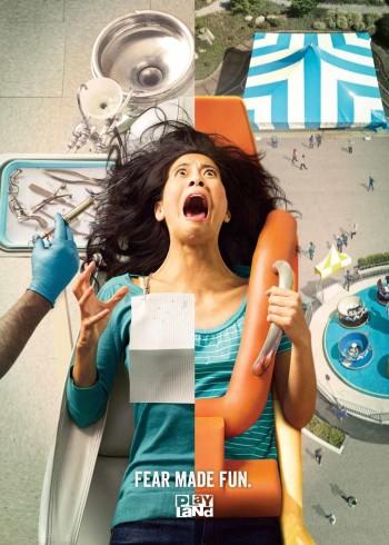 Campaña publicitaria anti odontólogo. Sector Salud