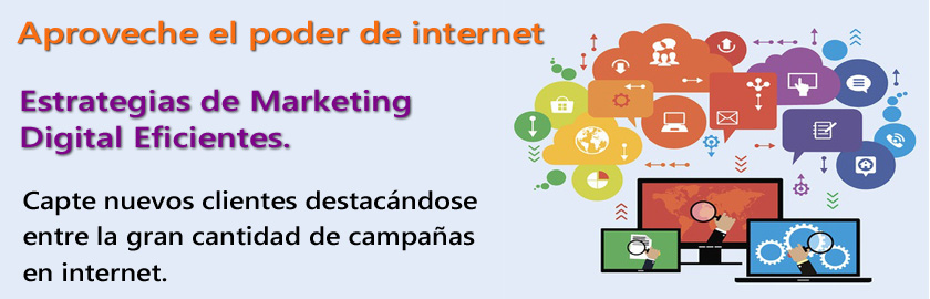 Optimización de Publicidad Online. Aproveche el poder de internet